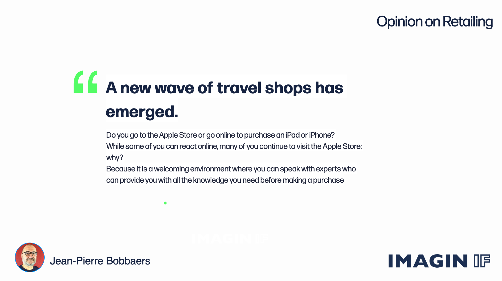 Read more about the article A new wave of travel shops has emerged.