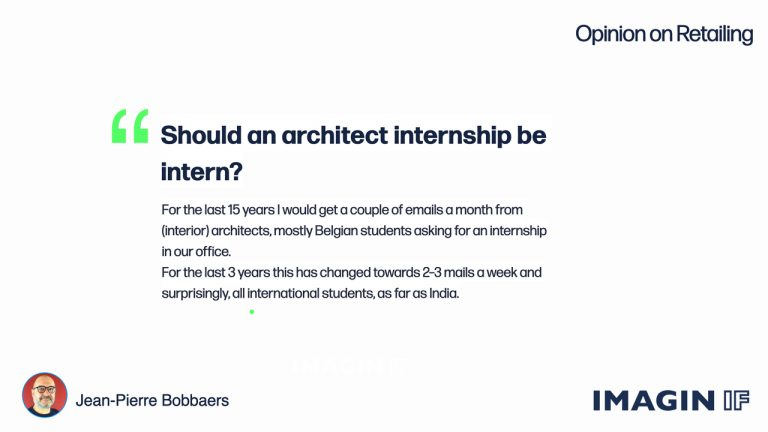 Should an architect internship be intern ?