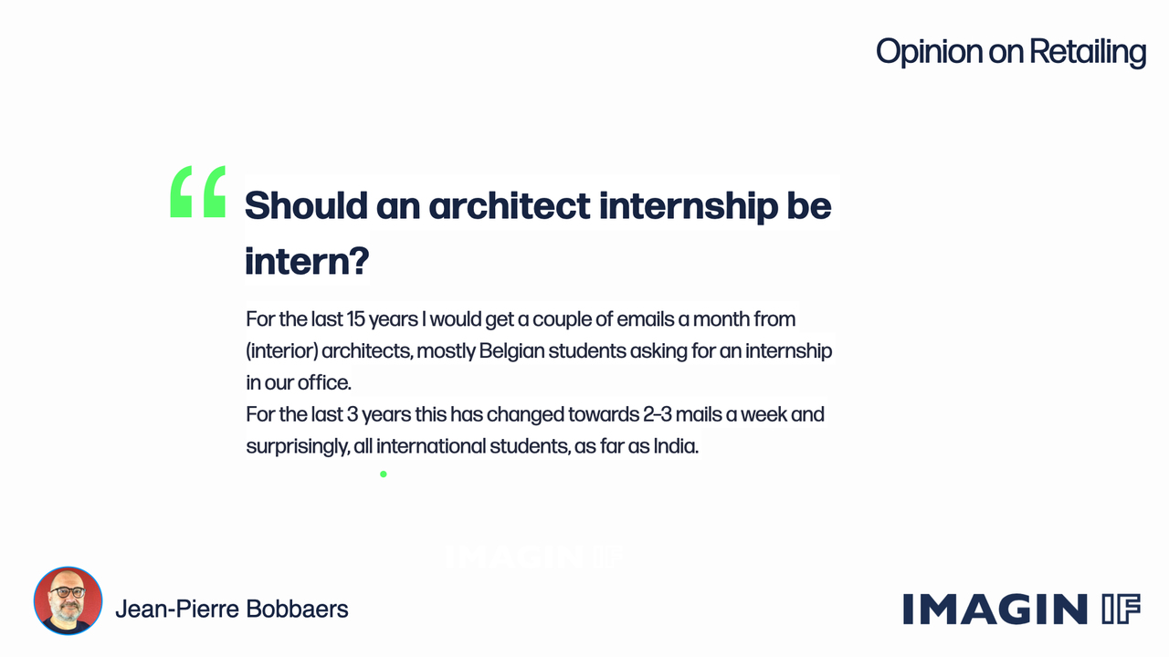 Read more about the article Should an Architect Internship be Intern?